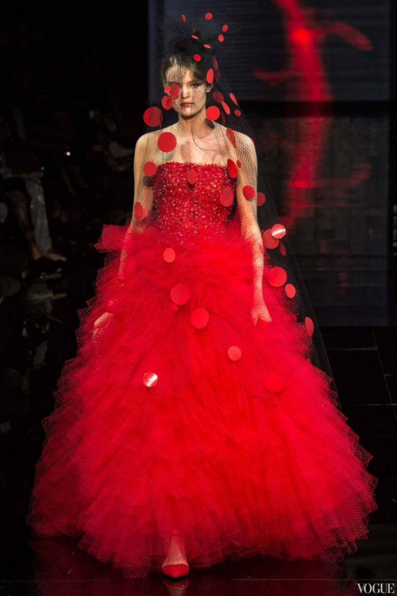 Armani Priv? Couture осень-зима 2014/2015 #3