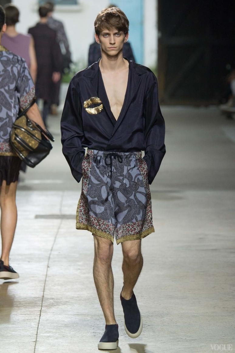 Dries van Noten Menswear весна-лето 2016 #26