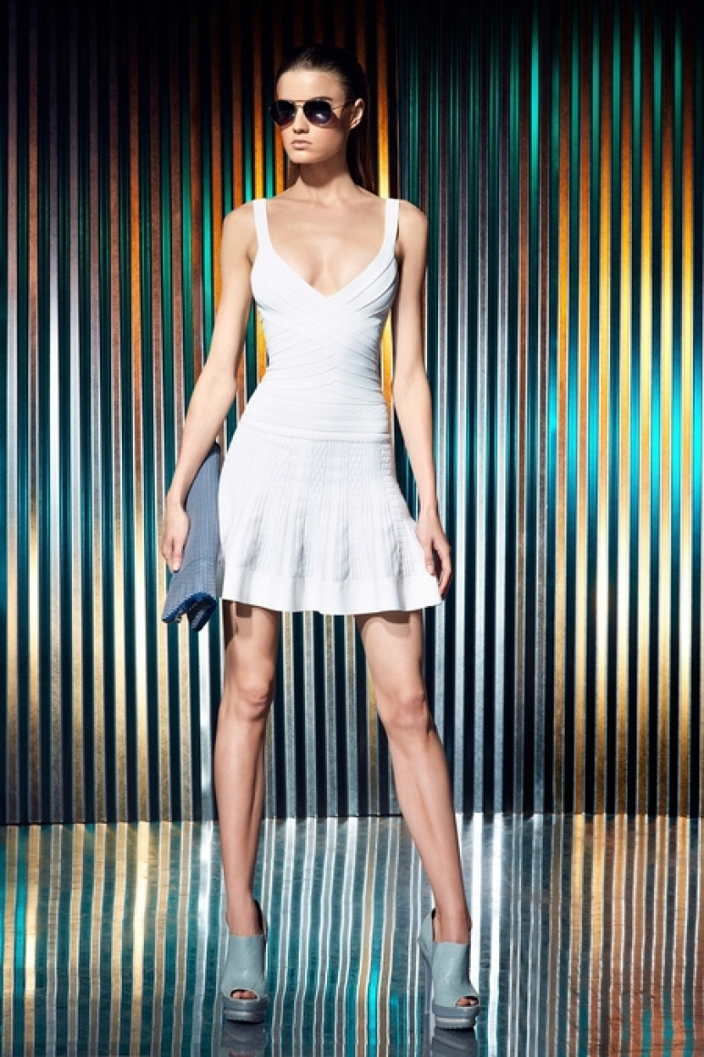 Herve Leger by Max Azria Resort 2014 #1