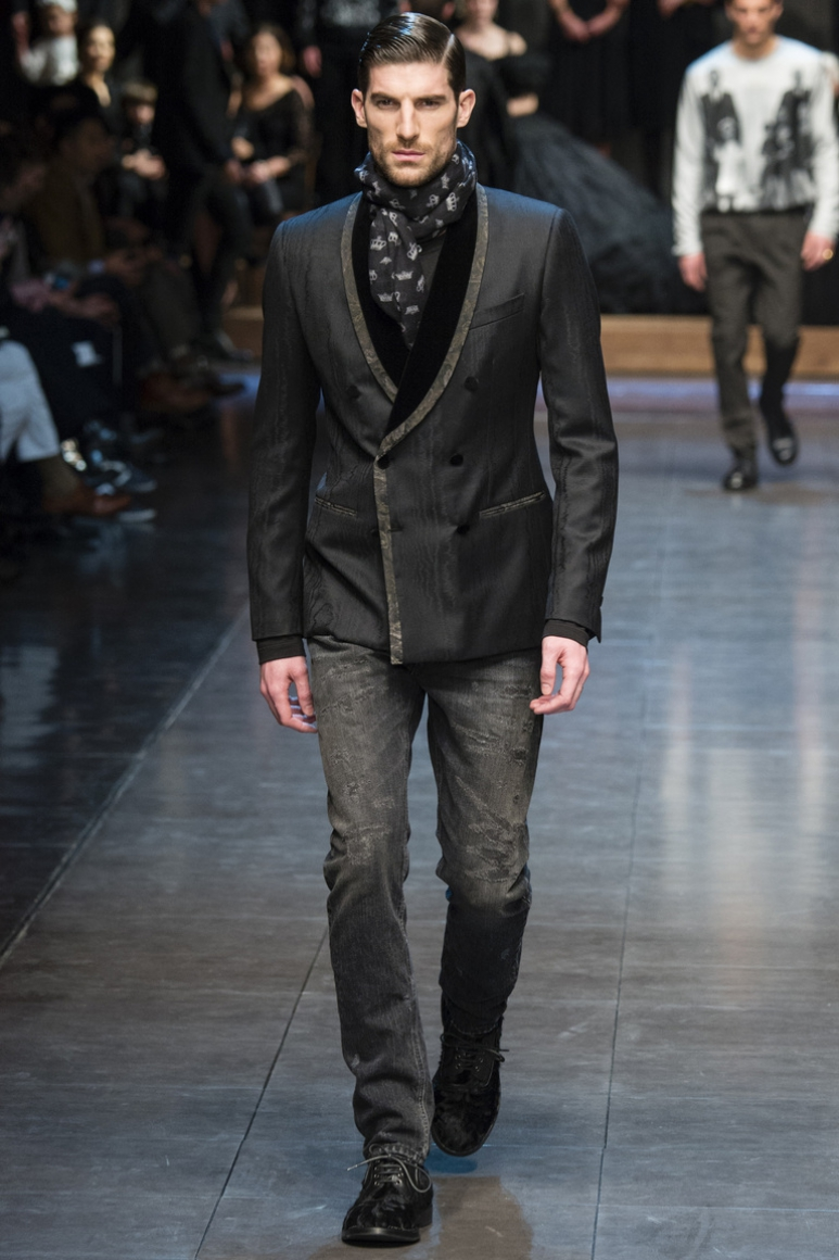 Dolce & Gabbana Menswear осень-зима 2015/2016 #72