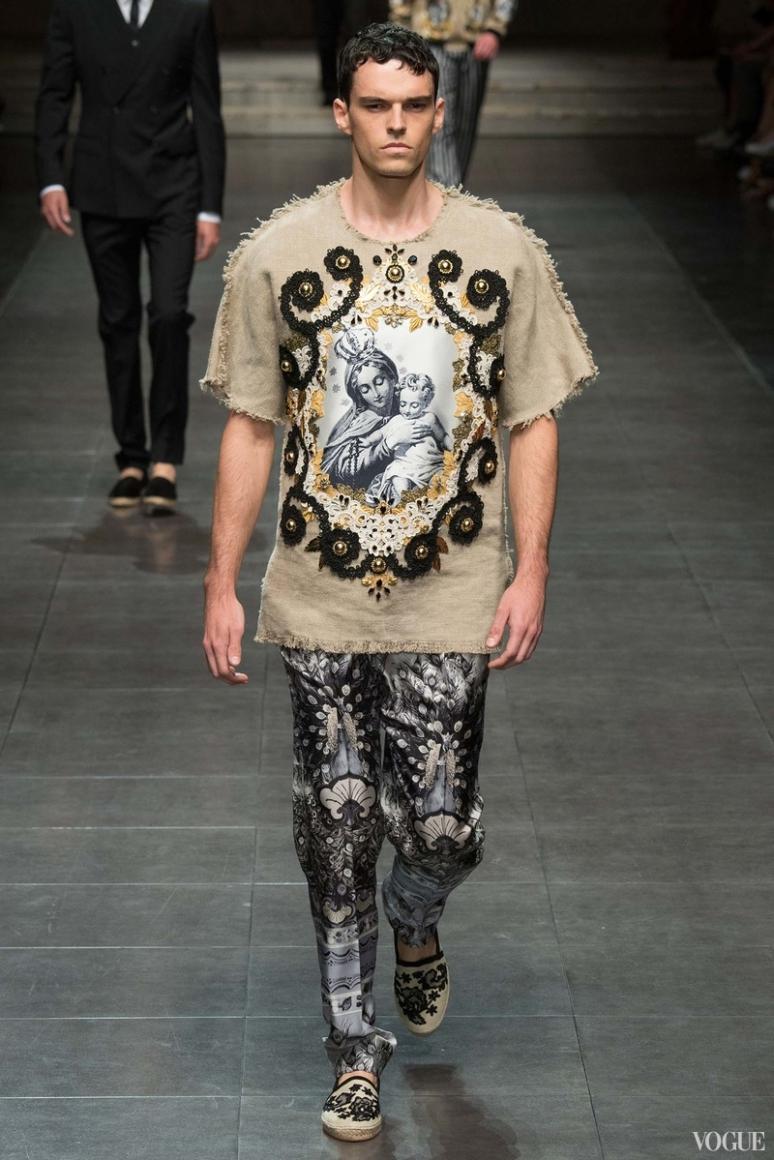 Dolce & Gabbana Menswear весна-лето 2016 #69