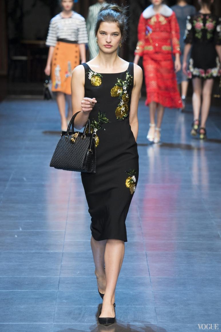 Dolce & Gabbana весна-лето 2016 #70