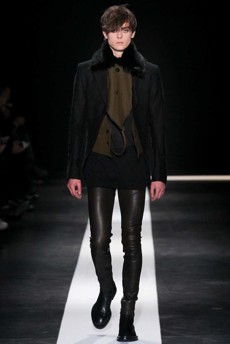 Ann Demeulemeester Menswear осень-зима 2015/2016 #19