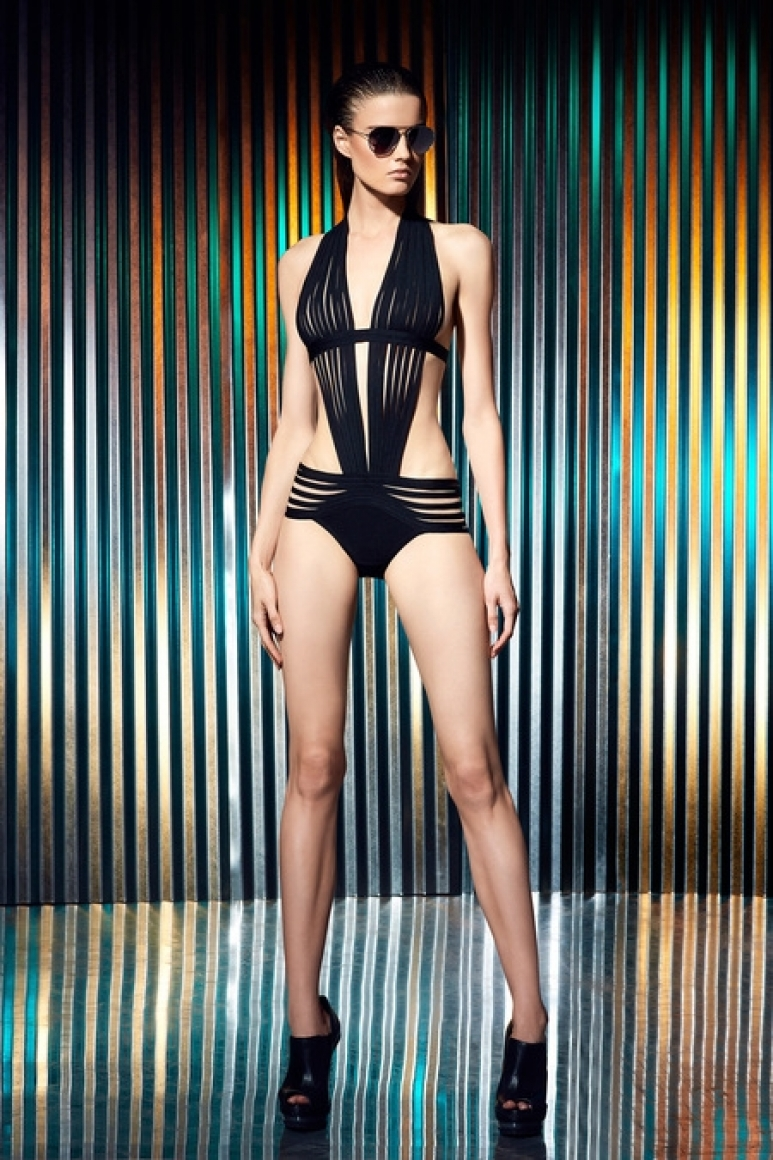Herve Leger by Max Azria Resort 2014 #11