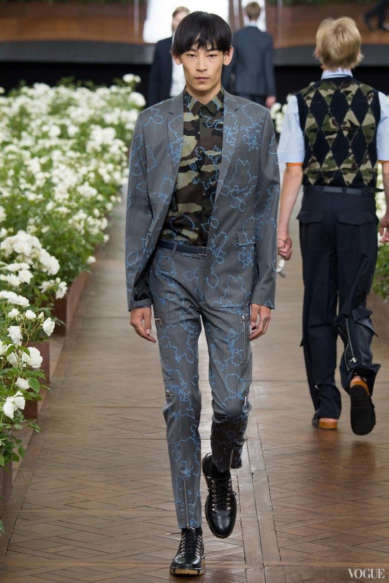 Dior Homme Menswear весна-лето 2016 #38