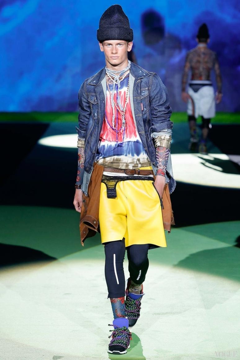 Dsquared? Menswear весна-лето 2016 #17