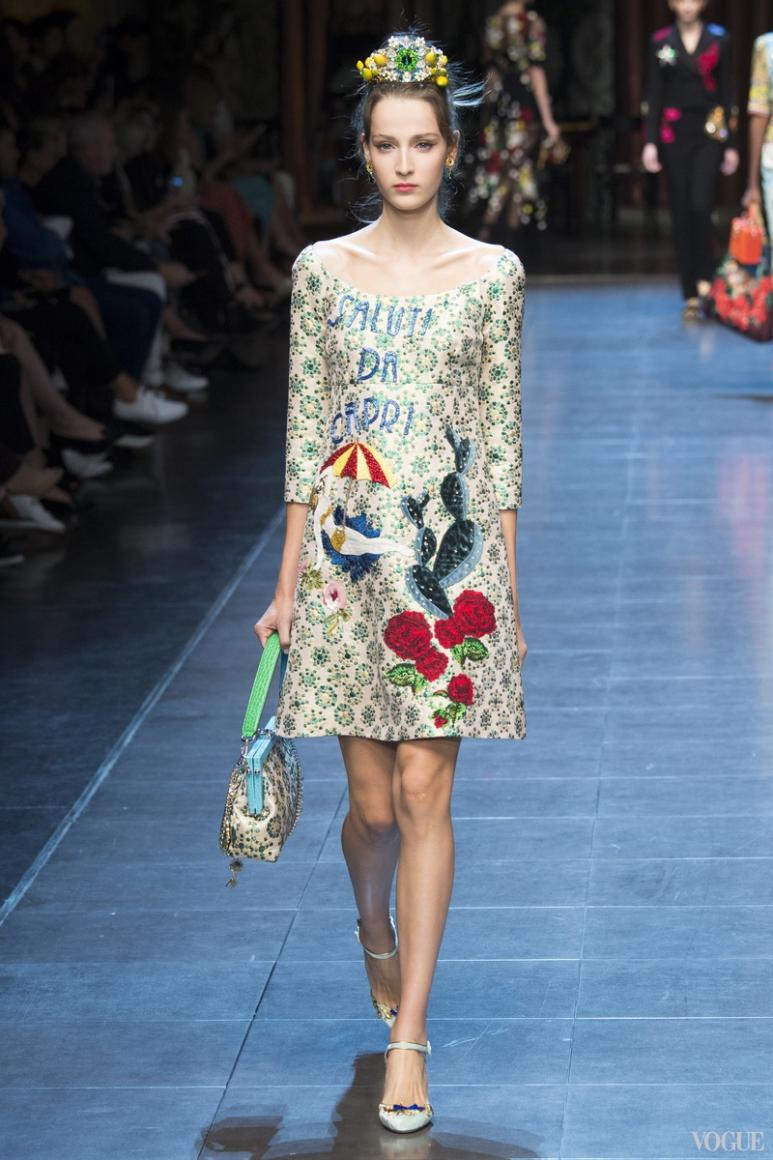 Dolce & Gabbana весна-лето 2016 #27