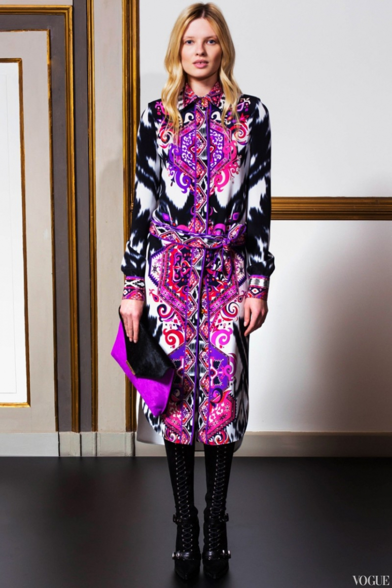Emilio Pucci Couture весна-лето 2013 #30
