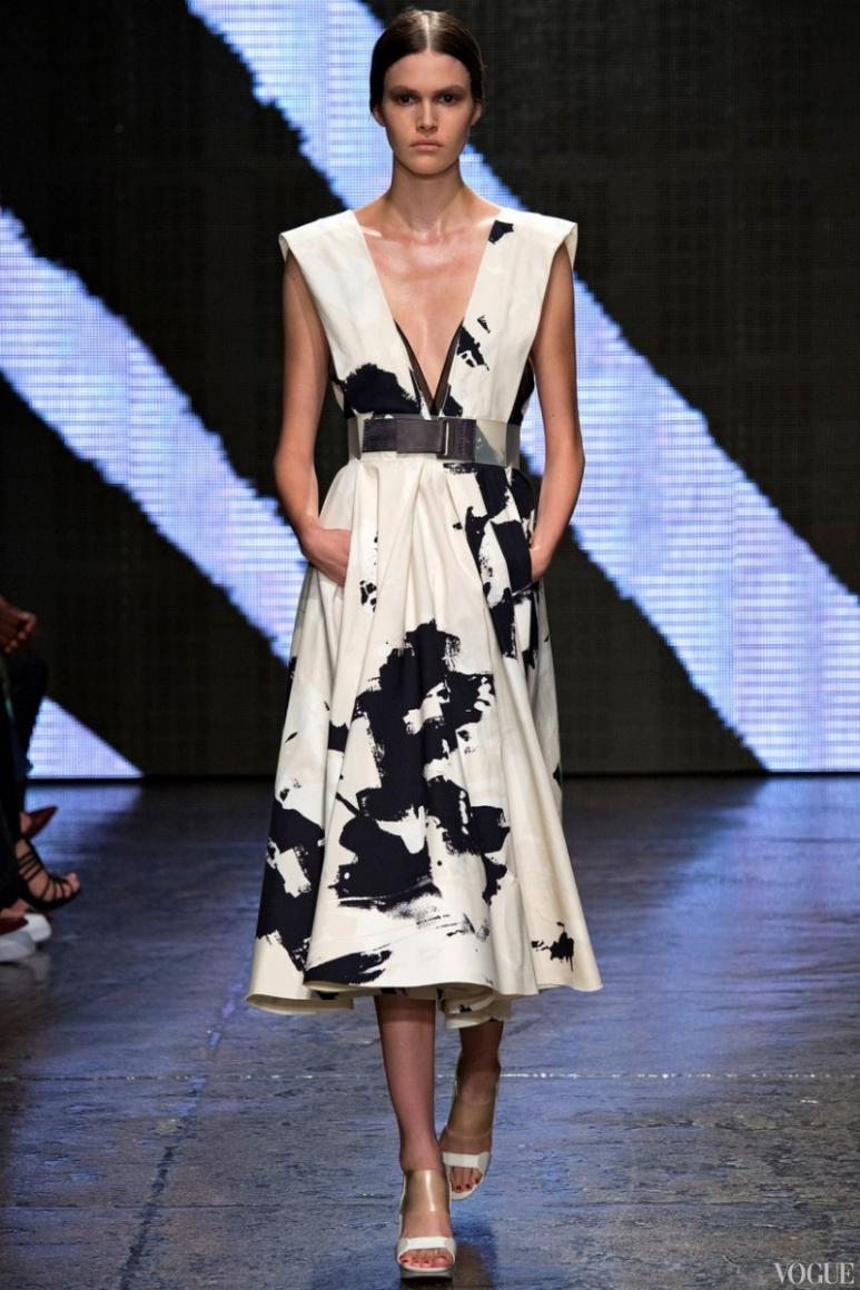 Donna Karan весна-лето 2015 #44