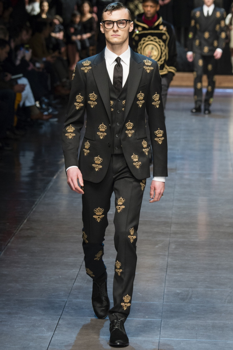 Dolce & Gabbana Menswear осень-зима 2015/2016 #60