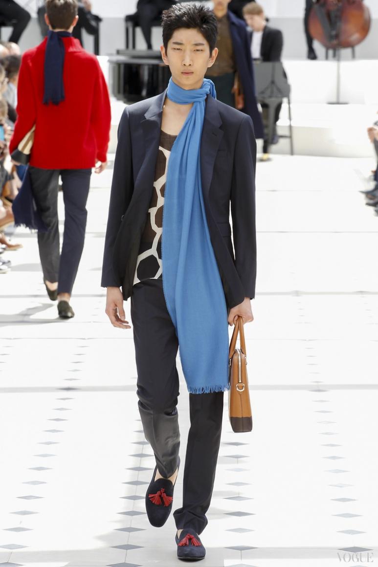 Burberry Prorsum Menswear весна-лето 2016 #34