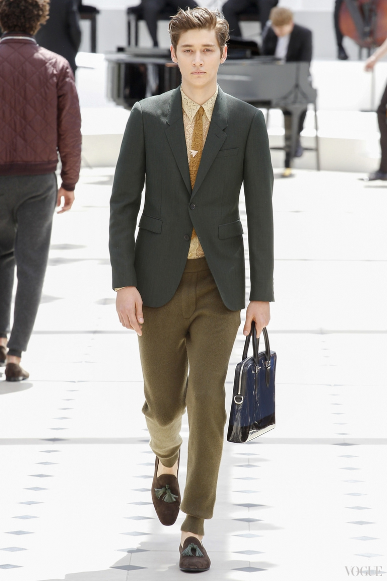 Burberry Prorsum Menswear весна-лето 2016 #42