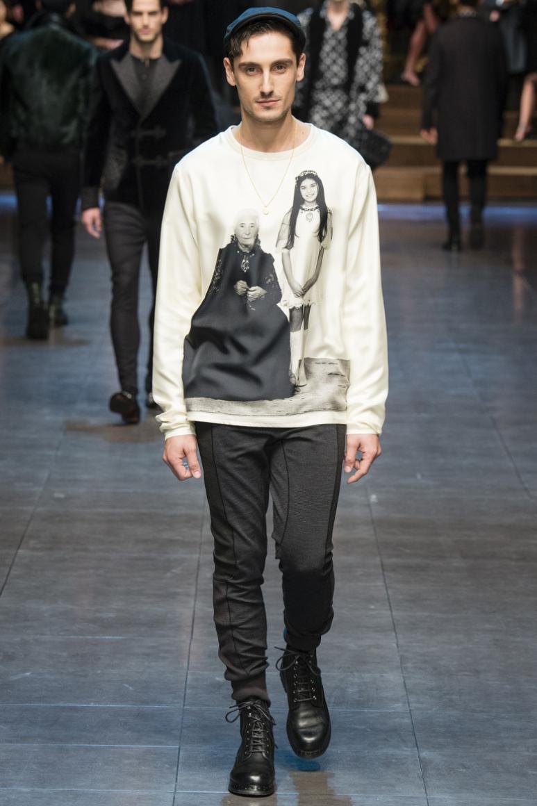 Dolce & Gabbana Menswear осень-зима 2015/2016 #25