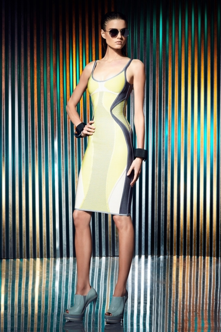 Herve Leger by Max Azria Resort 2014 #40