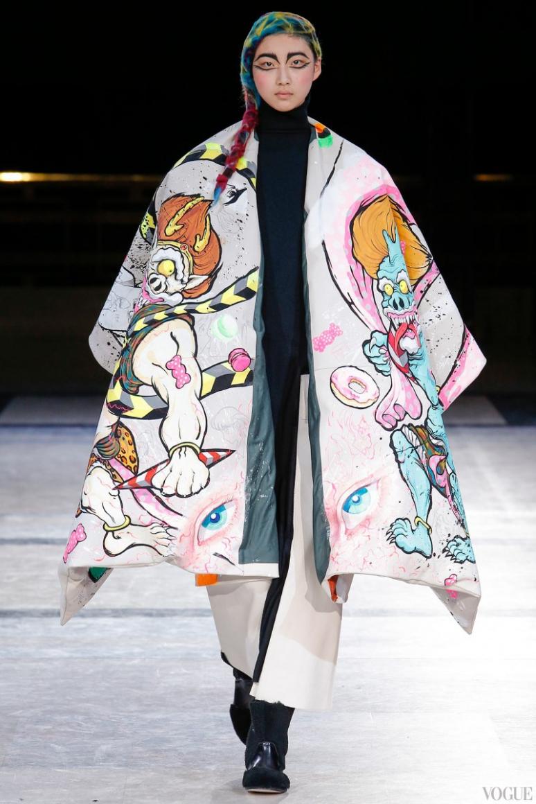 Yohji Yamamoto осень-зима 2014/2015 #3