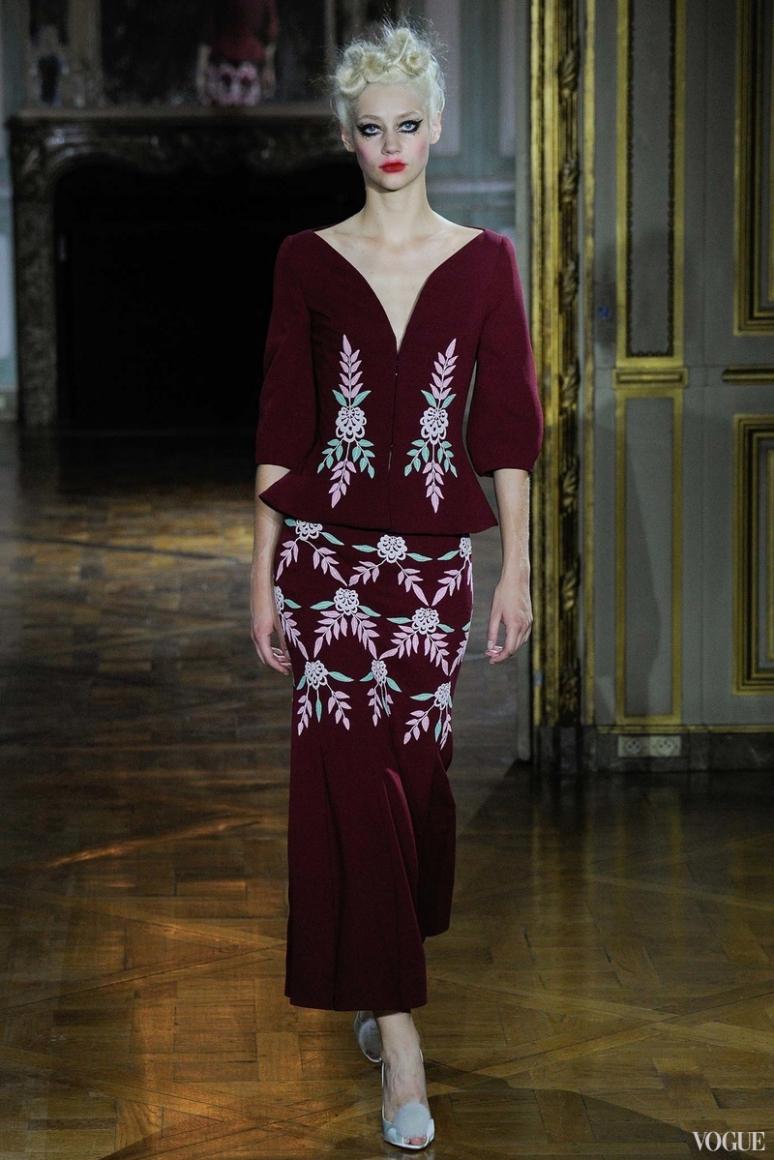 Ulyana Sergeenko Couture осень-зима 2015/2016 #29