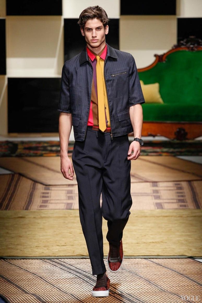 Salvatore Ferragamo Menswear весна-лето 2016 #23