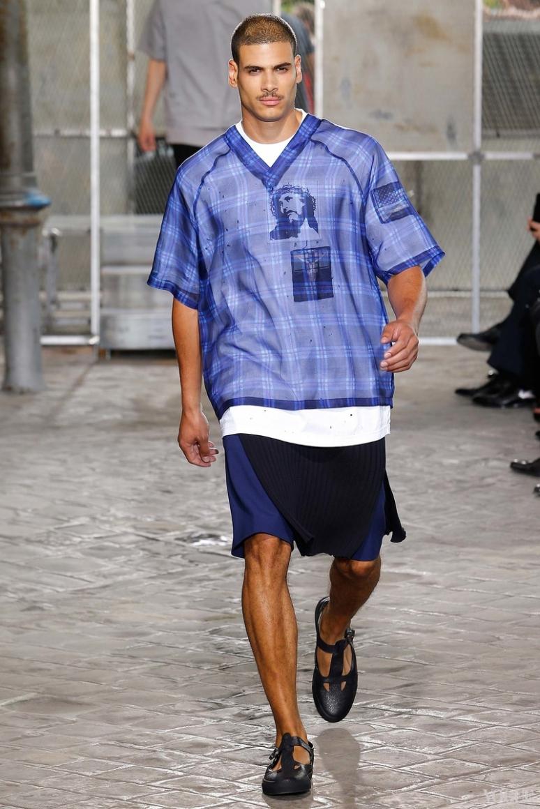 Givenchy Menswear весна-лето 2016 #43
