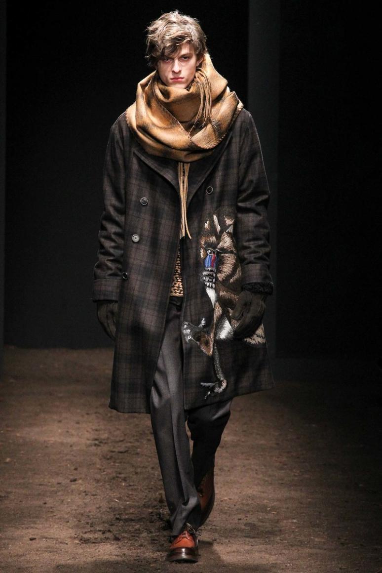 Salvatore Ferragamo Menswear осень-зима 2015/2016 #7