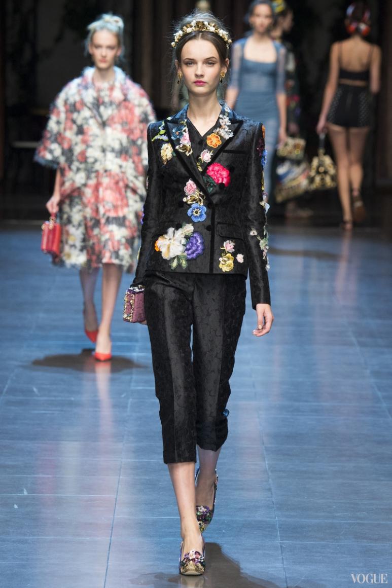 Dolce & Gabbana весна-лето 2016 #76