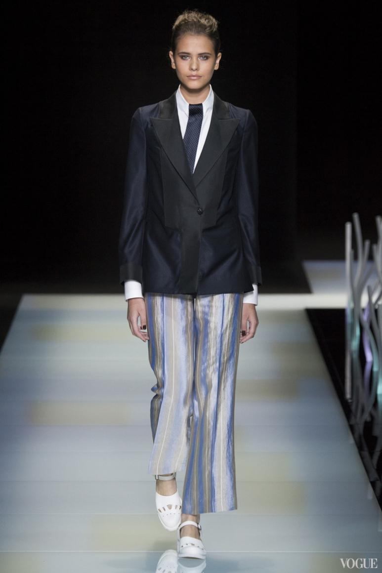 Giorgio Armani Menswear весна-лето 2016 #18