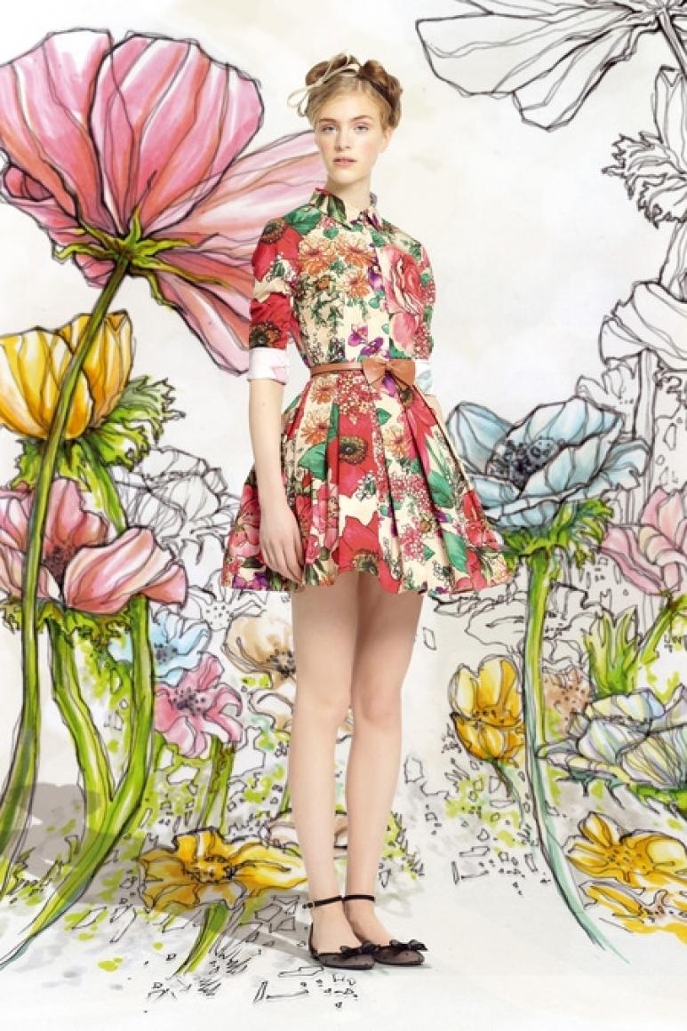 Red Valentino весна-лето 2014 #1