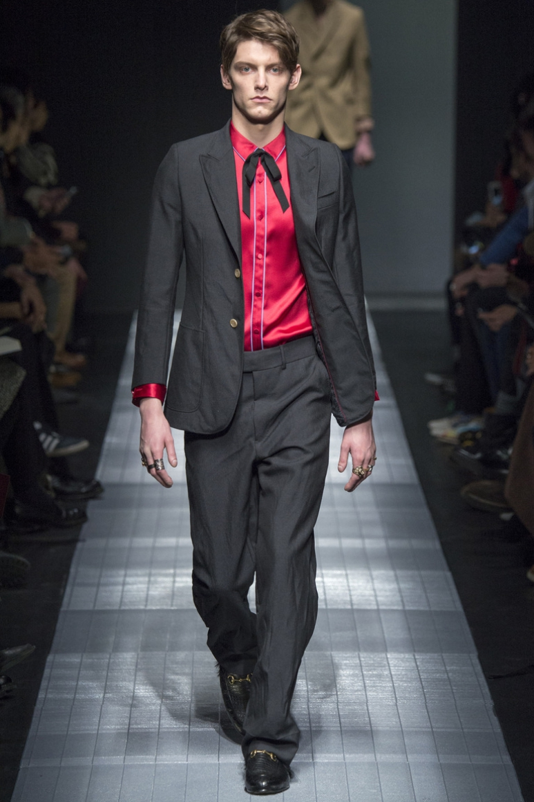 Gucci Menswear осень-зима 2015/2016 #23
