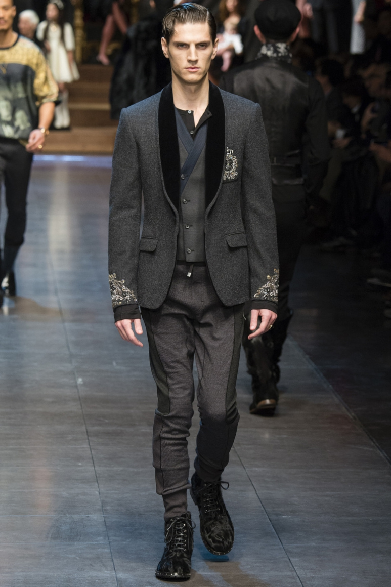 Dolce & Gabbana Menswear осень-зима 2015/2016 #41