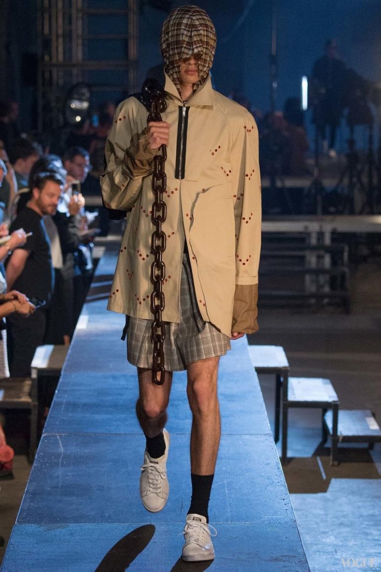 Raf Simons Menswear весна-лето 2016 #25