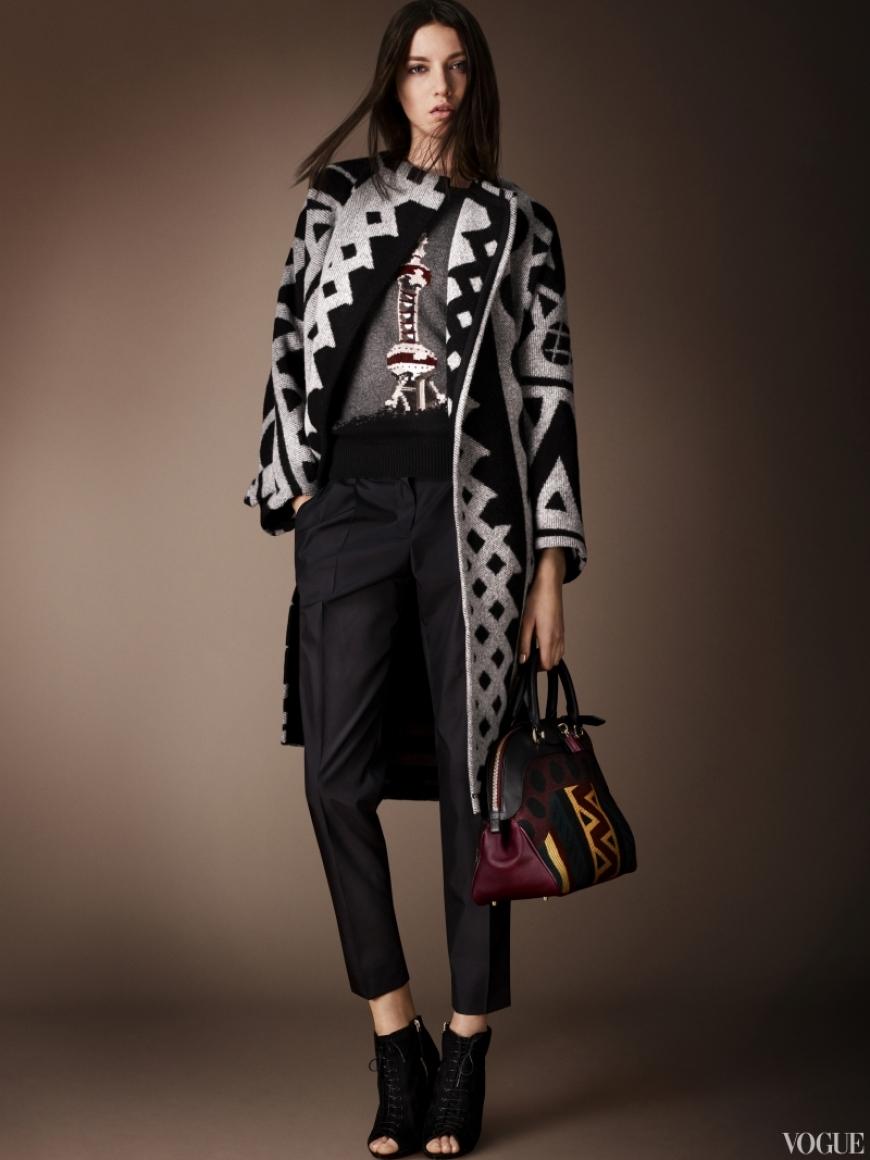 Burberry Prorsum Couture весна-лето 2013 #28