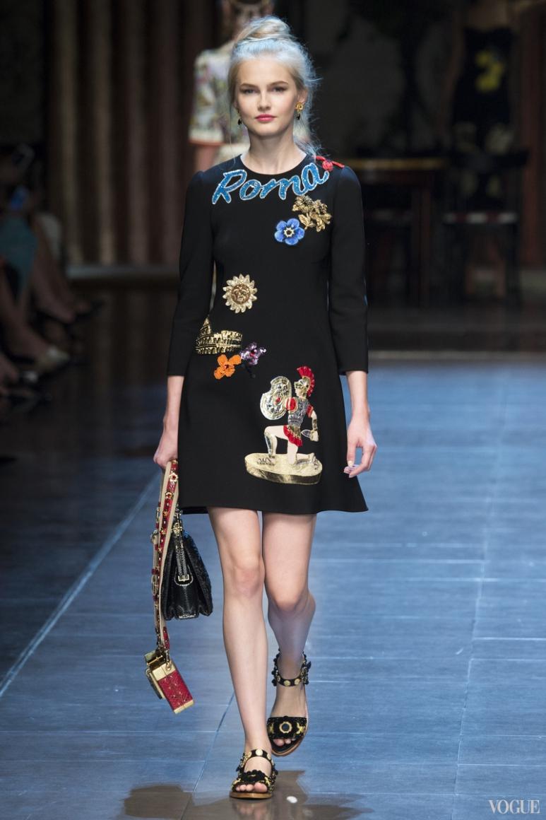 Dolce & Gabbana весна-лето 2016 #9