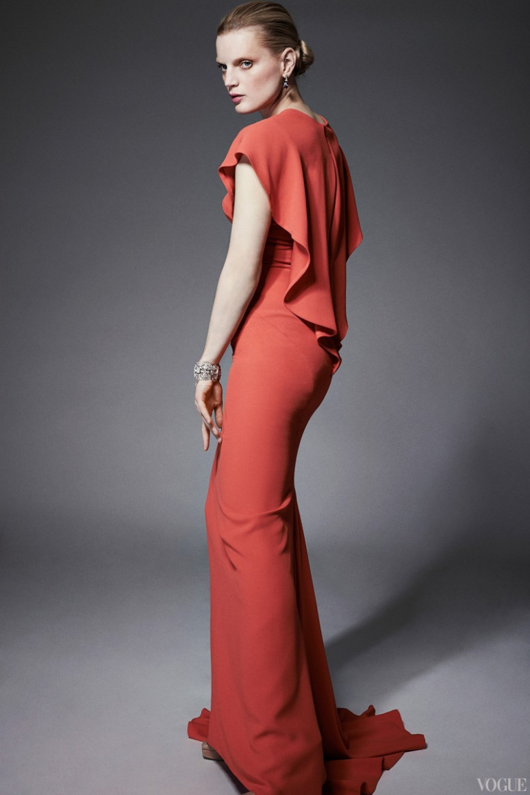 Zac Posen Resort 2015 #13