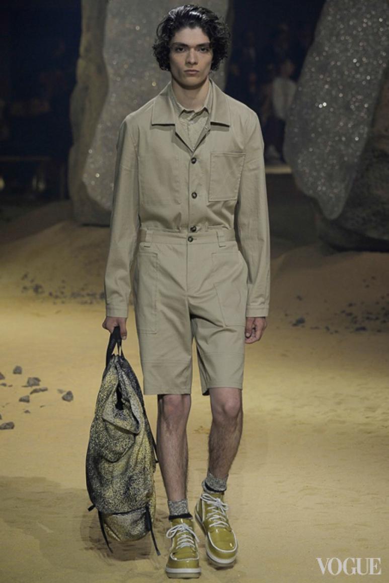 Kenzo Menswear весна-лето 2016 #30
