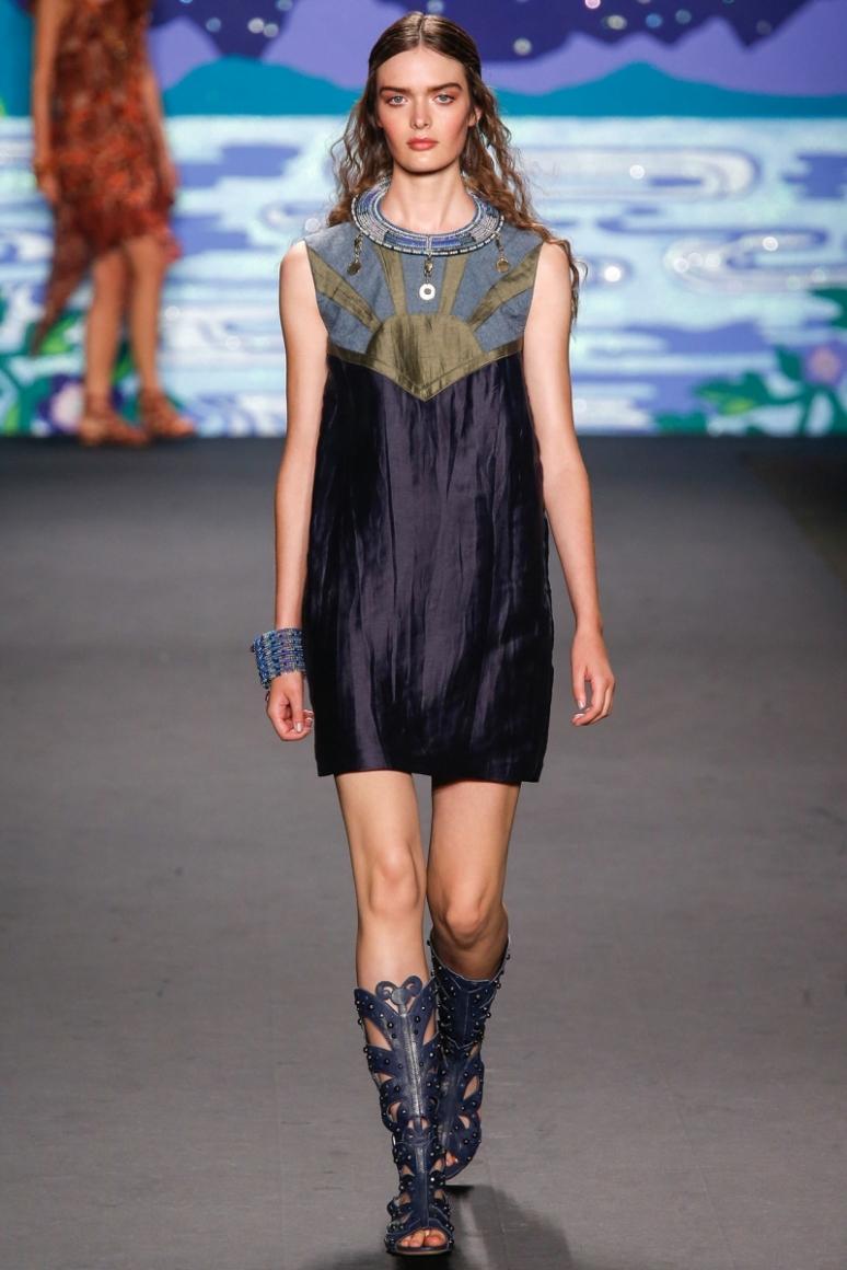 Anna Sui весна-лето 2014 #31