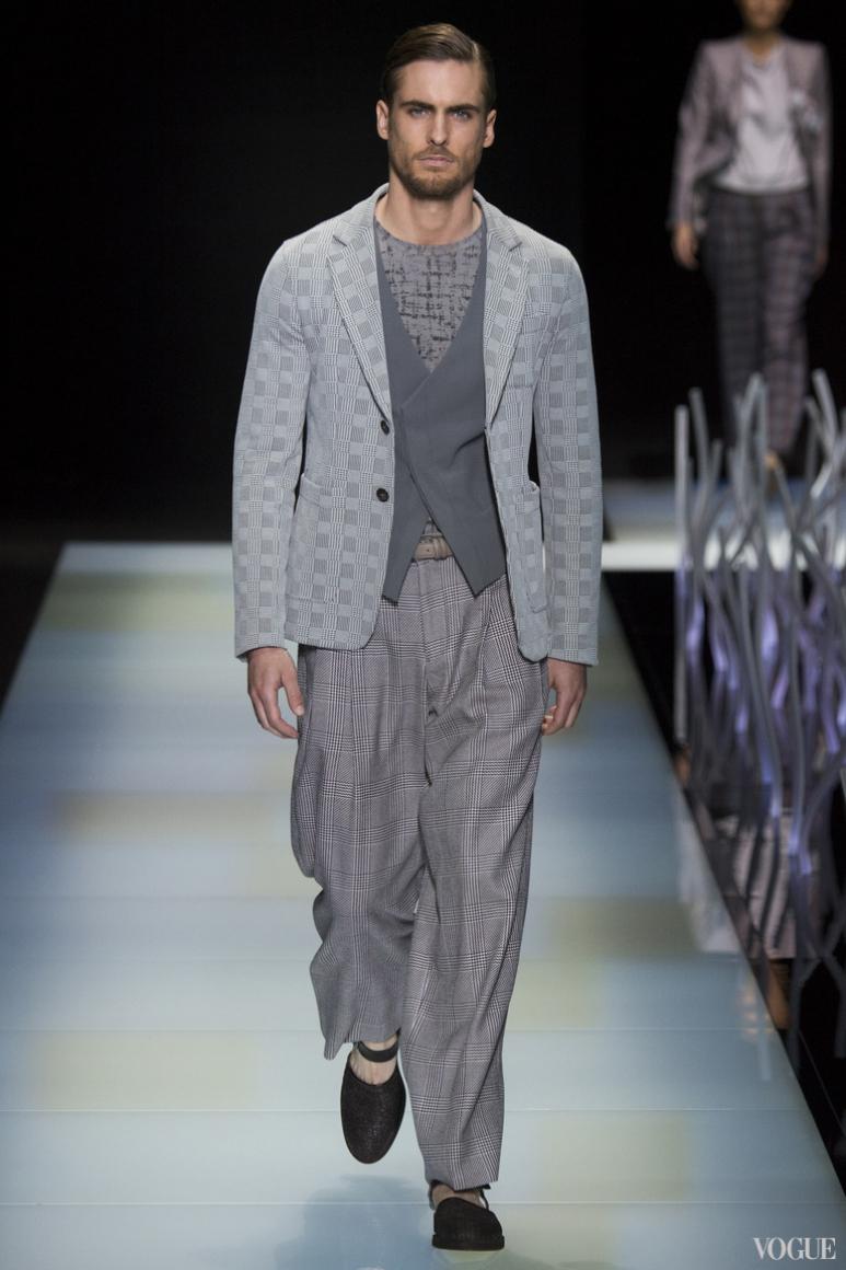 Giorgio Armani Menswear весна-лето 2016 #68
