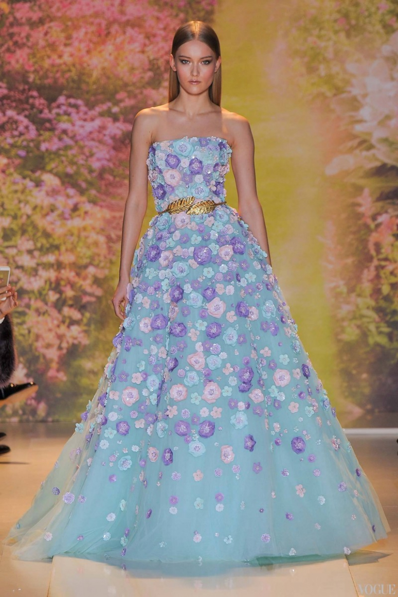 Zuhair Murad Couture весна-лето 2014 #19
