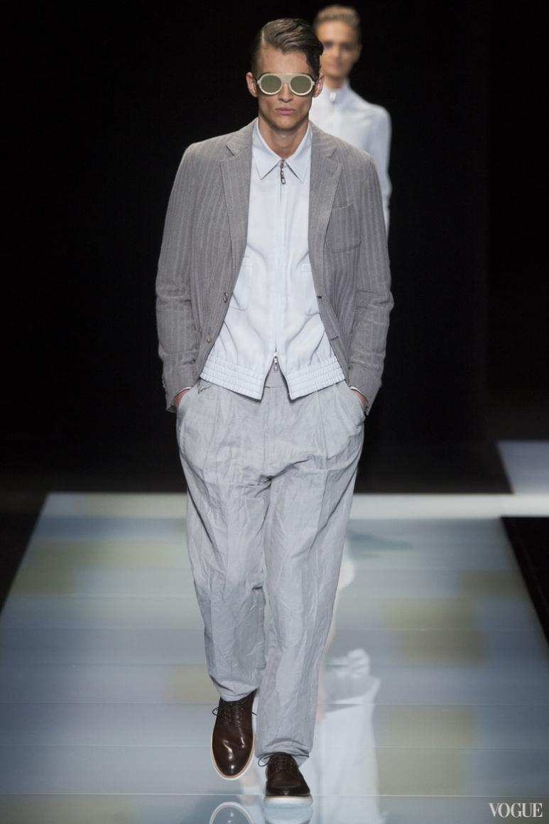 Giorgio Armani Menswear весна-лето 2016 #26