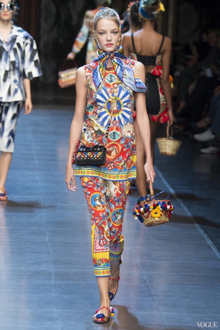Dolce & Gabbana весна-лето 2016 #17