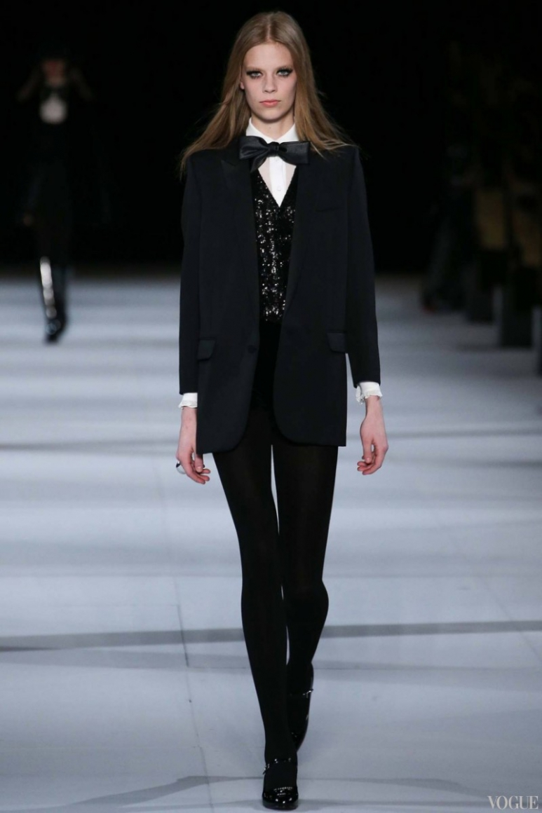 Saint Laurent осень-зима 2014/2015 #3