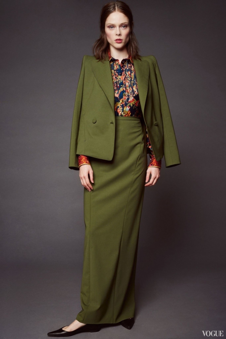 Zac Posen Resort 2016 #23