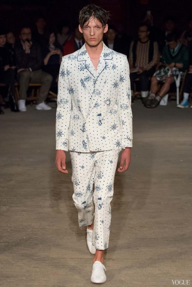 Alexander McQueen Menswear весна-лето 2016 #30