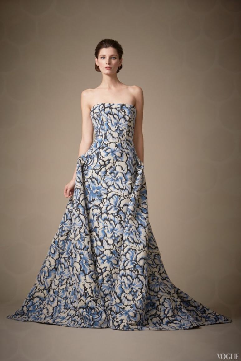Carolina Herrera Couture весна-лето 2013 #10