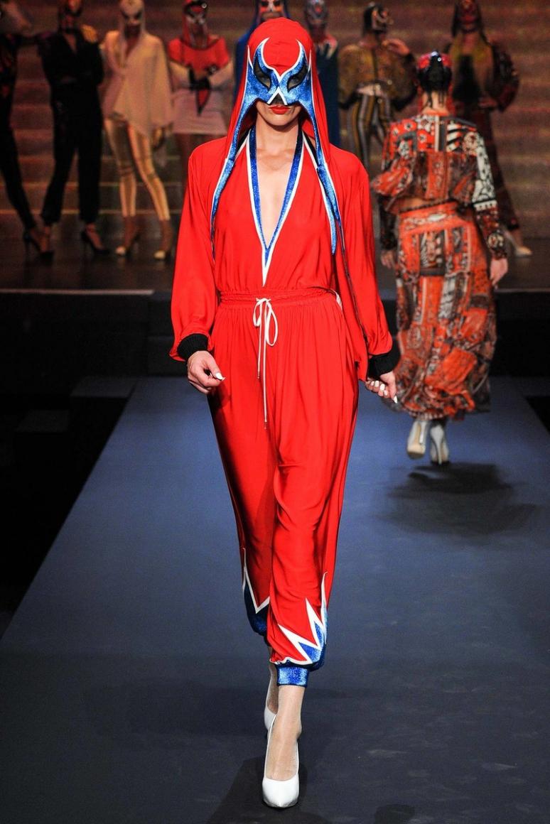 Jean Paul Gaultier весна-лето 2015 #11