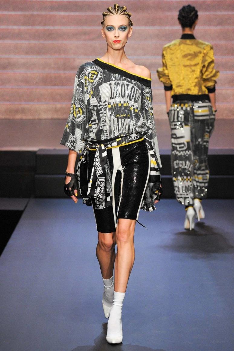 Jean Paul Gaultier весна-лето 2015 #55