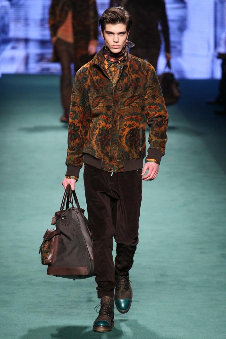 Etro Menswear осень-зима 2015/2016 #48