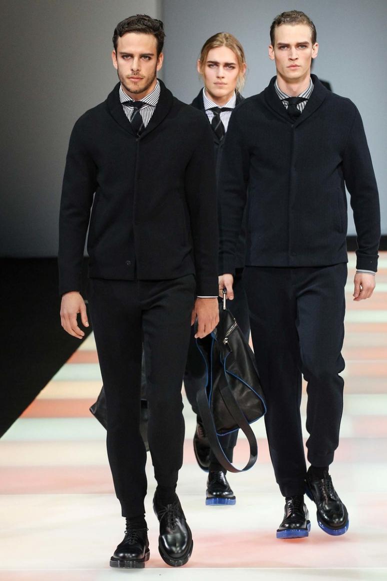 Emporio Armani Menswear осень-зима 2015/2016 #3