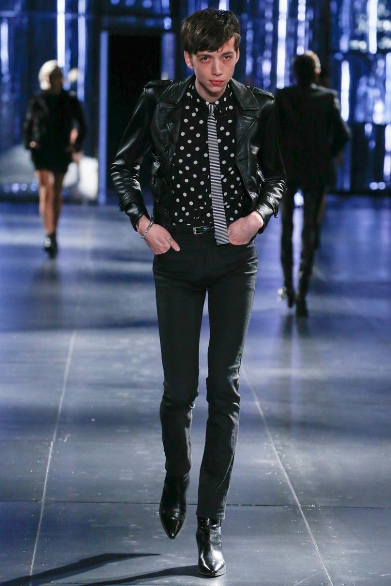 Saint Laurent Menswear осень-зима 2015/2016 #49