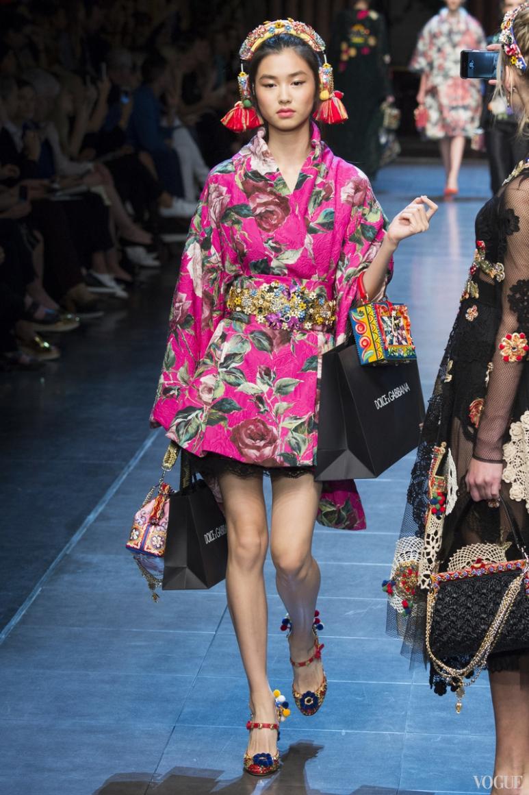 Dolce & Gabbana весна-лето 2016 #78