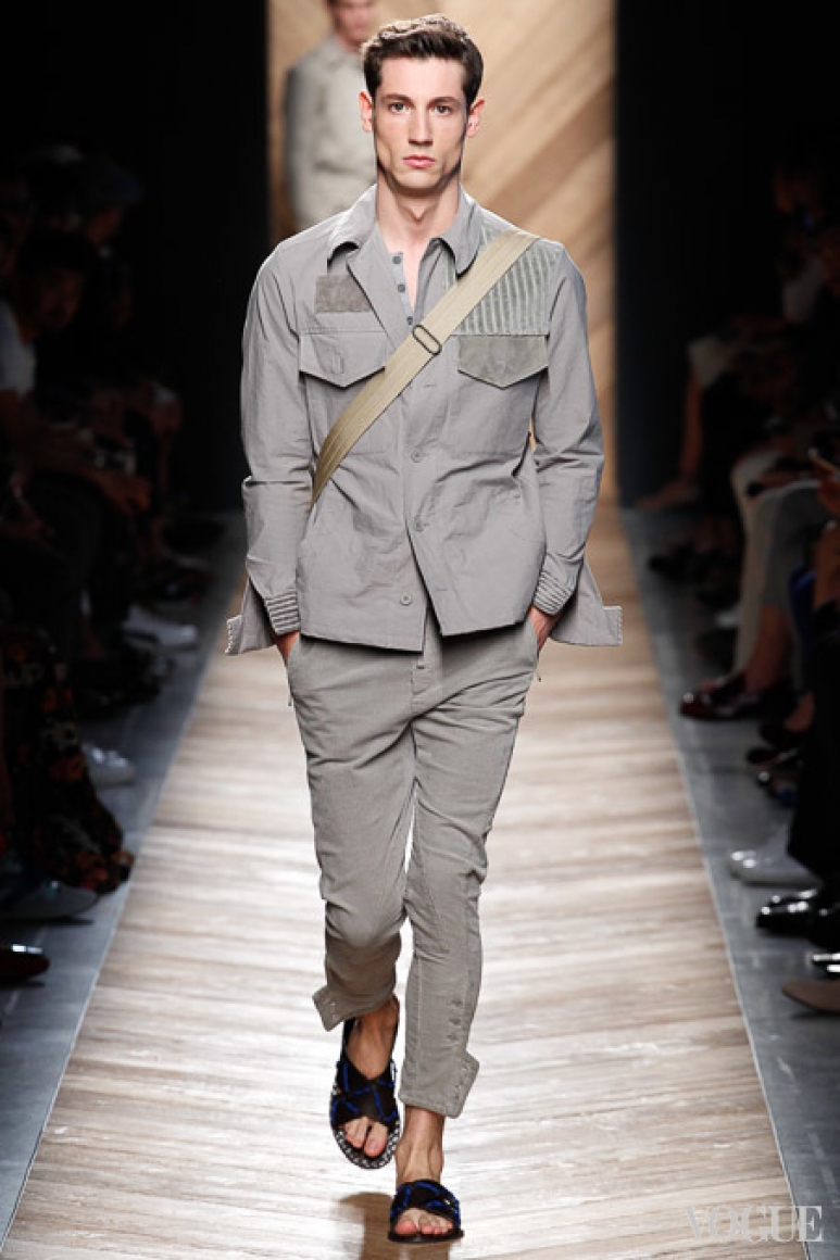 Bottega Veneta Menswear весна-лето 2016 #47