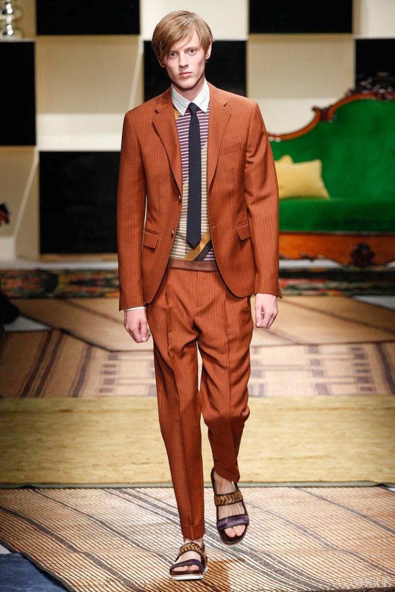 Salvatore Ferragamo Menswear весна-лето 2016 #16